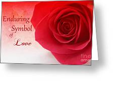 Enduring Symbol Of Love Greeting Card