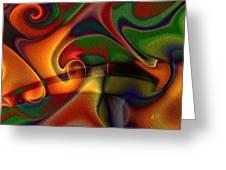 Energetic Greeting Card