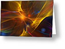 Energy Matrix Greeting Card