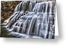 Lower Falls #4 Greeting Card