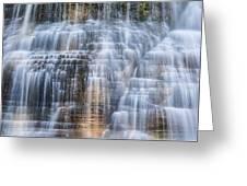 Lower Falls Cascade #1 Greeting Card