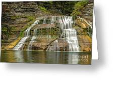 Enfield Falls Tompkins County New York Greeting Card