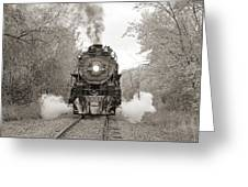 Engine 261 Greeting Card