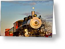 Engine 509 At Crossville Tennessee Puffing Greeting Card