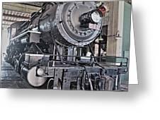 Engine 542 Embossed Greeting Card