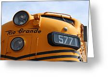 Engine 5771 Greeting Card