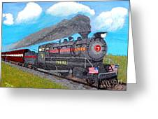 Engine #7 D1 Greeting Card