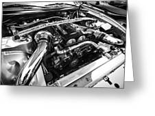 Engine Bay Greeting Card