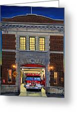 Engine Company 10 Greeting Card