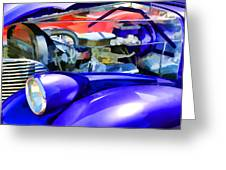 Engine Compartment 11 Greeting Card