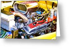 Engine Compartment 5 Greeting Card