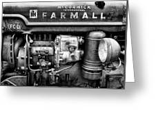 Engine - Farmall Tractor  Greeting Card