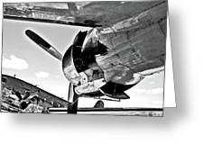 Engine Lcokheed Constellation Greeting Card