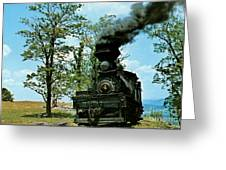 Engine Number 4 Greeting Card