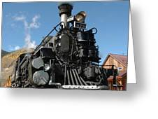 Engine Number 473 Greeting Card