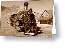 Engine Number 478 Greeting Card