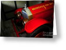 Engine Number One Greeting Card