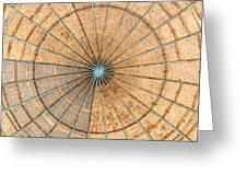 Engineered Wood Dome Greeting Card