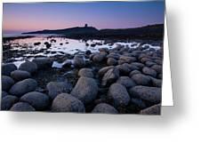 England, Northumberland, Embleton Bay. Greeting Card
