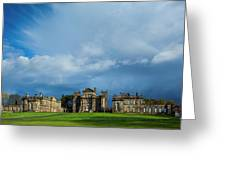 England, Northumberland, Seaton Delaval Hall Greeting Card
