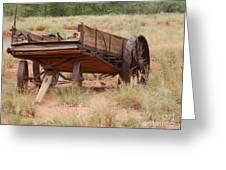 Engles Wagon Greeting Card