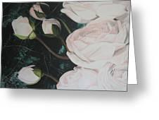 Englische Rosen Greeting Card
