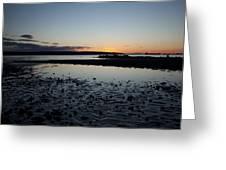 English Bay Sunset Greeting Card