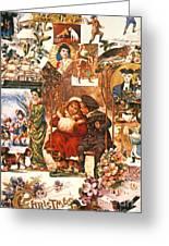 English Christmas Cards Greeting Card