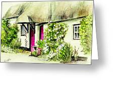 English Country Cottage Series Greeting Card
