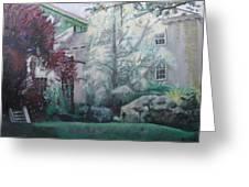 English Estate Greeting Card