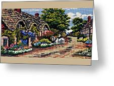 English Tapestry Greeting Card