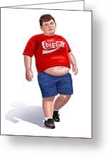 Enjoy Coke Greeting Card