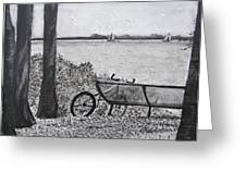 Enjoy The View Greeting Card