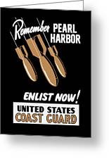 Enlist Now - United States Coast Guard Greeting Card