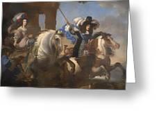 Enrichetta Adelaide Di Savoia E Ferdinando Di Baviera Greeting Card