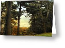 Enter Autumn Greeting Card