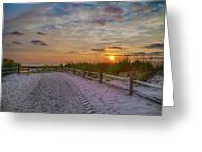 Enter Paradise- Avalon New Jersey Greeting Card