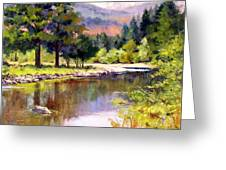 Entiat River Greeting Card