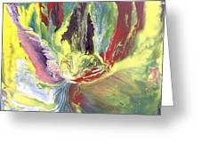 Entity From The Fourth Dimension Greeting Card