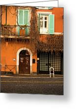 Entrance In Rome Greeting Card