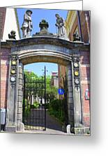 Entrance Of Bornhof Greeting Card