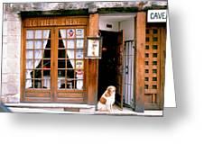 Entrance Paris France Greeting Card