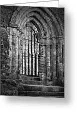 Entrance To Cong Abbey Cong Ireland Greeting Card