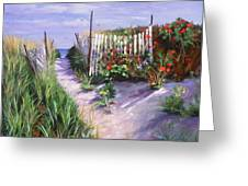 Entrance To Nantasket Greeting Card