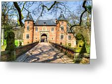 Entrance To The Castle, Belgium Greeting Card