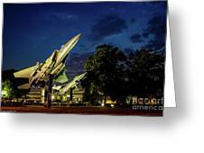 Entrance Wright Patterson Afb Greeting Card