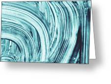 Entranced 1- Abstract Art By Linda Woods Greeting Card