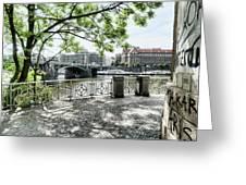 Entry To Prague Greeting Card