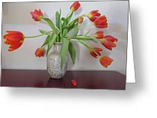 Entryway Bouquet Greeting Card