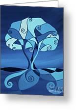 Enveloped In Blue Greeting Card